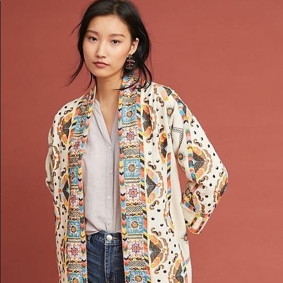 Anthropologie Jackets & Blazers - Anthropologie - Maeve beaded jacket
